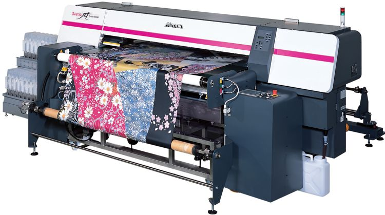 دستگاه چاپ پارچه - ابریشم و پنبه